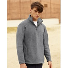 SS50M Fruit of the Loom Half Zip Fleece